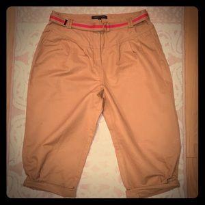 NEW CYNTHIA STEFFE Cargo Pants w/ Belt-Size 10